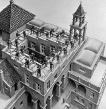to Sept 16   ART EXHIBIT   M.C. Escher in Lisbon   Belem   4€- 11€ @ Museu de Arte Popular   Lisboa   Lisboa   Portugal