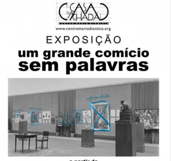 "to Apr 16 | PHOTO + ART EXHIBIT | ""A Great Rally Without Words: The General Exhibition of Plastic Arts, 1947"" 