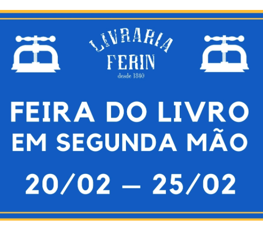 to Feb 25 | BOOK EXCHANGE | Second-hand Book Fare | Baixa Chiado | FREE @ Livraria Ferin | Lisboa | Lisboa | Portugal