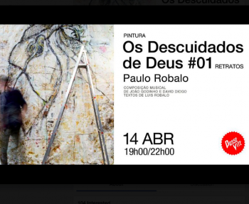"to May 1 | PAINTING EXHIBIT | ""The careless ones of God #01: Portraits"" 