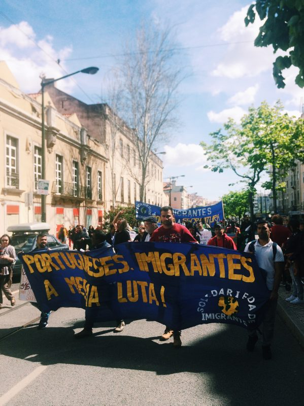 May Day Lisboa 2018 Immigration