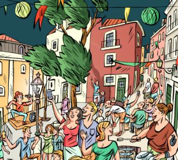 """to Jun 30   PARTY   """"Lisboa a Festa 2018""""   Lisboa   FREE @ Various Locations   Lisbon   Lisbon   Portugal"""