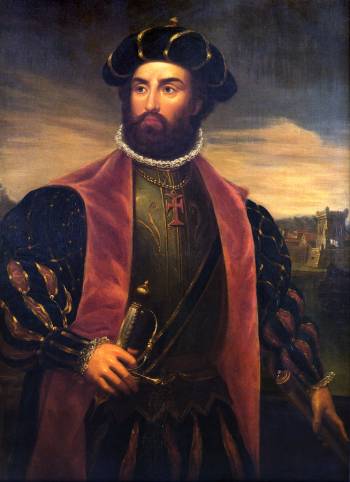 Vasco da Gama Portrait