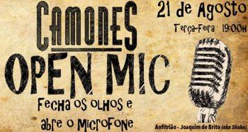 OPEN MIC | Hosted by Joaquim de Brito (aka Shaka) | Graça | FREE @ Camones | Lisboa | Lisboa | Portugal