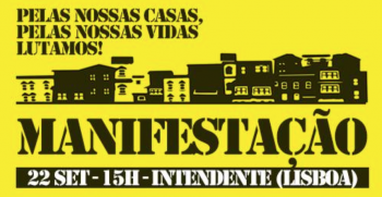 PROTEST| Demonstration: The Housing Crisis | Intendente | FREE @ Largo Intendente, Lisboa | Lisboa | Lisboa | Portugal
