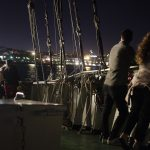 Lisbon Boat Party Watching the views