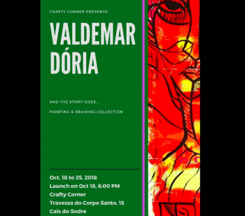 "to Oct 26 | ART EXHIBIT | ""And the story goes..."" by Valdemar Doria 