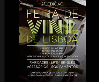 to Nov 18 | MARKET | Vinyl Records Fair, 2d edition | Alfama | FREE @ Santa Clara Market | Lisboa | Lisboa | Portugal