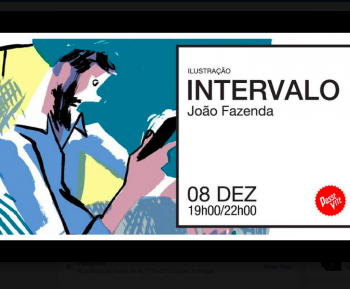"to Jan 9 | ART EXHIBIT | ""Interval"" by João Fazenda 