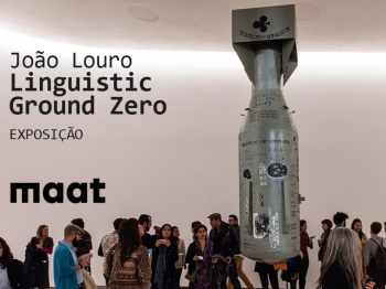 to Apr 23| ART EXHIBIT | João Louro: Linguistic Ground Zero | Belém | 5€ @ MAAT Museum | Lisboa | Portugal