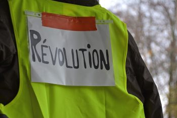 Yellow Vests Revolution Event Protest portugal Lisbon
