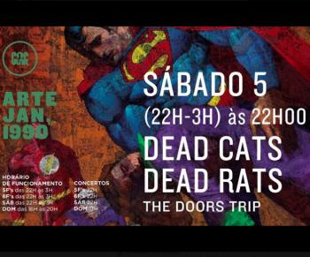 LIVE MUSIC | Dead Cats Dead Rats: The Doors Trip | Roma | FREE @ Popular Alvalade | Lisboa | Lisboa | Portugal