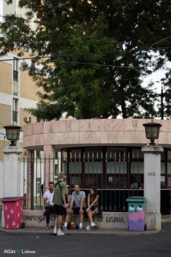 2018 Nova Batida entrance to village underground