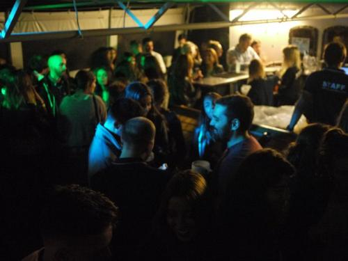 Dance floor on Lisbon Boat Party