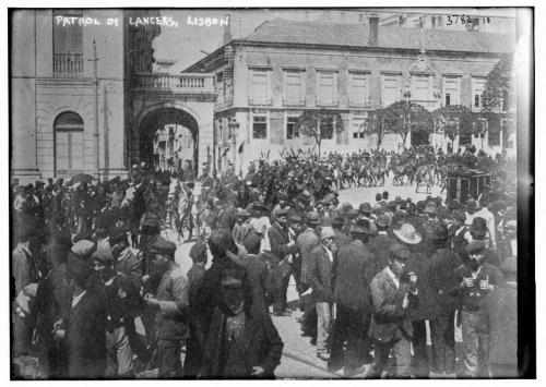 Patrol of Lancers, Lisbon