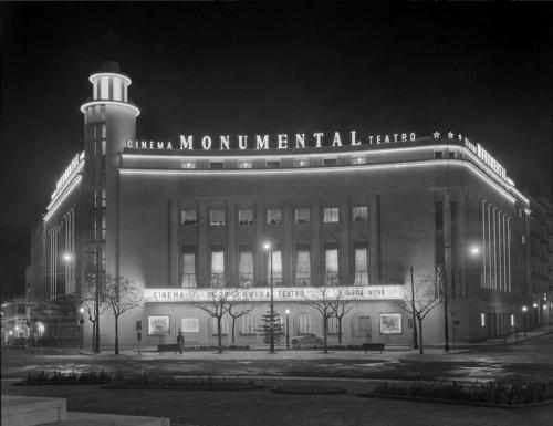 Cinema Monumental, Saldanha circa 1960
